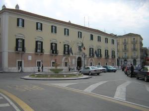 La sede della Provincia di Foggia presso Palazzo Dogana a Foggia