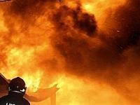 Un incendio, foto di repertorio