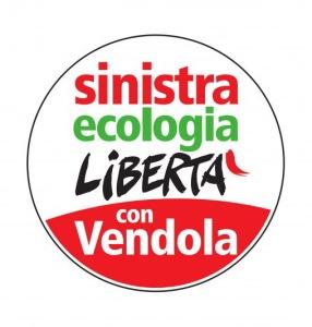 Il logo di Sinistra Ecologia e Libertà