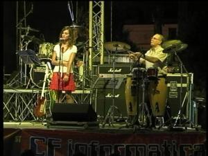 L'ultima uscita in pubblico di Antonio Zicolillo nella V Edizione dell'Orta Nova Rock Festival