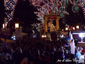 La Processione di Sant'Antonio in Piazza Nenni, foto di Luca Caporale