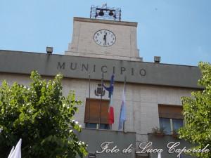 Il municipio di Orta Nova, foto di Luca Caporale