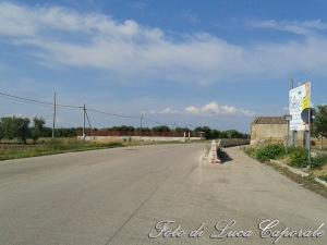 La pista ciclabile tra Stornarella e Stornara, foto di Luca Caporale