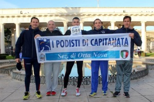 I podisti di capitanata ortesi alla 2^ Citi Half Marathon