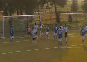 Il gol di Antonio Di Savino che ha deciso il match