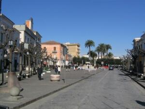 Piazza Pietro Nenni in una foto di Luca Caporale