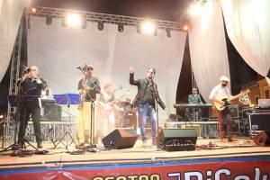 L'Harlem Blues Band sul palco della festa patronale con James Thompson