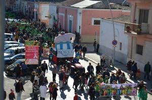 La scorsa edizione del Carnevale Ortese