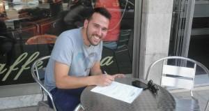 Filippo Sodrio firma per l'Herdonia