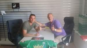 Giovanni Stango ed il presidente Fiordelisi