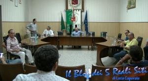 Seduta deserta per il consiglio dell'Unione dei 5 Reali Siti