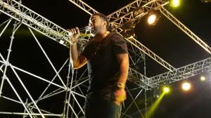 Shaggy sul palco dello Stornarap foto di Valerio D'Arasmo
