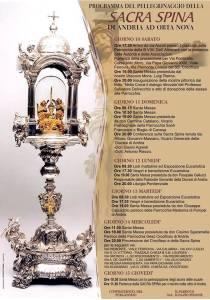 Il programma degli eventi