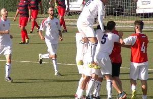 Un gol dello Sporting Ordona