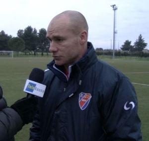 Il tecnico dello Sporting Ordona Matteo Zito