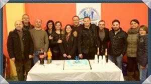 Massimo Di Corato, il terzo da sinistra con la lista Stornarella in Movimento ed il sindaco Colia