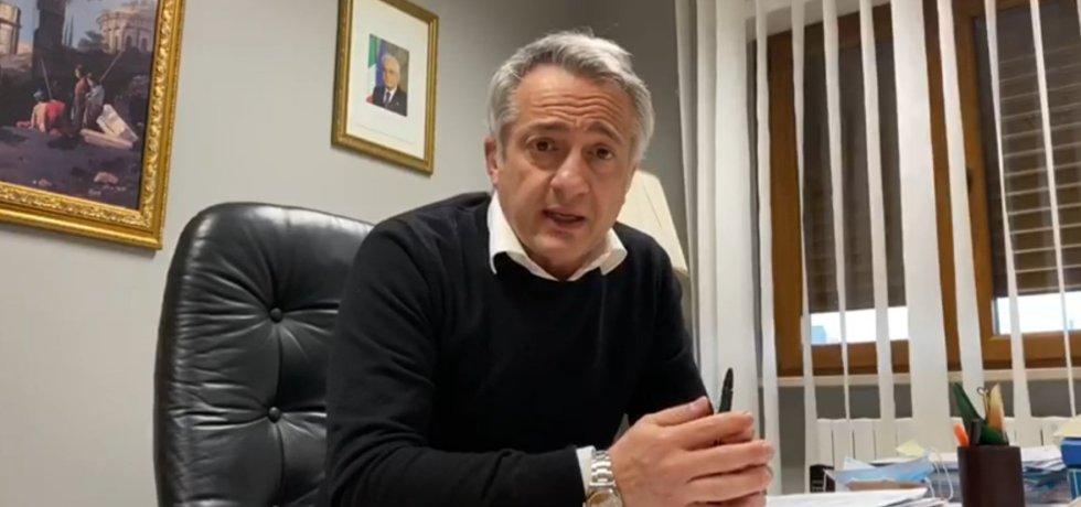 Il sindaco di Carapelle, Umberto Di Michele
